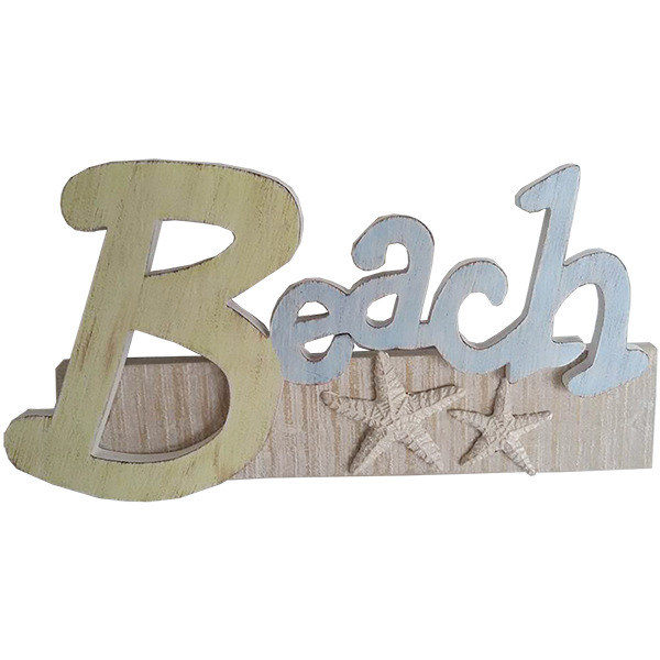 Nice Beach Theme Decor on A Budget
