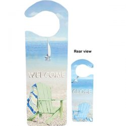 Welcome Door Knob Hanger Beach Chairs 243cm