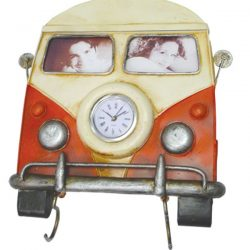 Old Hippie Van Photo frame and Key Holder 25cm