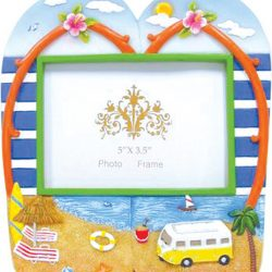 Cream Old Hippie Van Thong pair Photo Frame