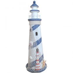 Lighthouse Large Blue stripe