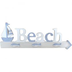 Beach Plaque w sailboat 56cm