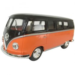 "1962 VW Kombi diecast 5""- Black top - ORANGE"