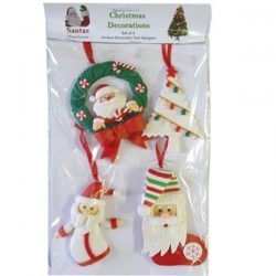 Christmas Hangers (set of 4) - A - 7-10cm